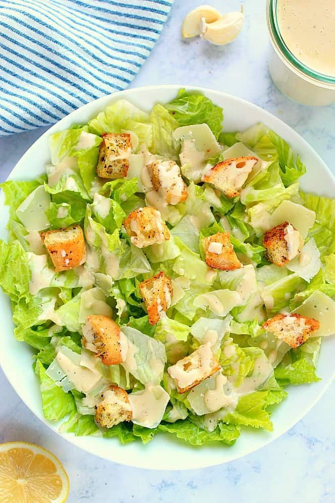 This Caesar Salad is quick, simple and bursting with ...