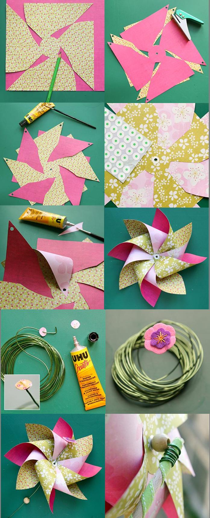 Moulin A Vent Club Des Parents Artisanat Bricolage Papier Craft Bricolage Papier