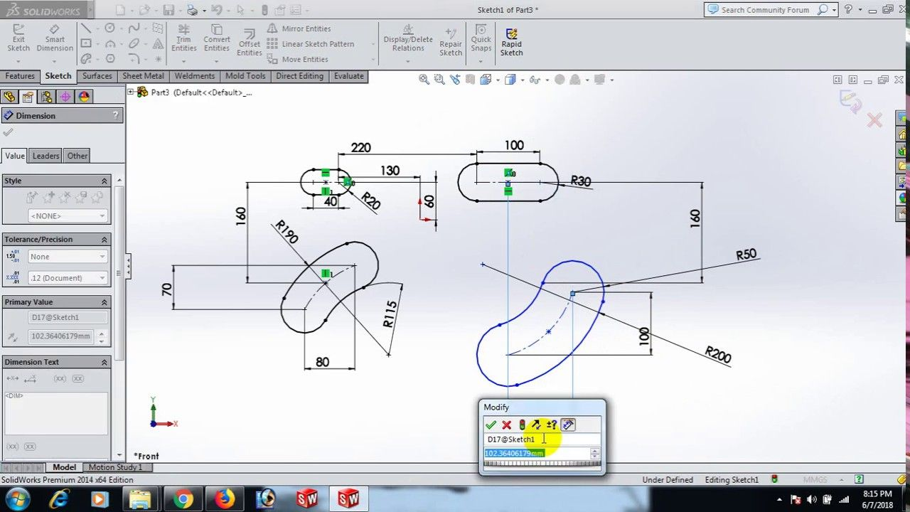 How To Make Slot In Solidworks Solidworks Youtube How To Make