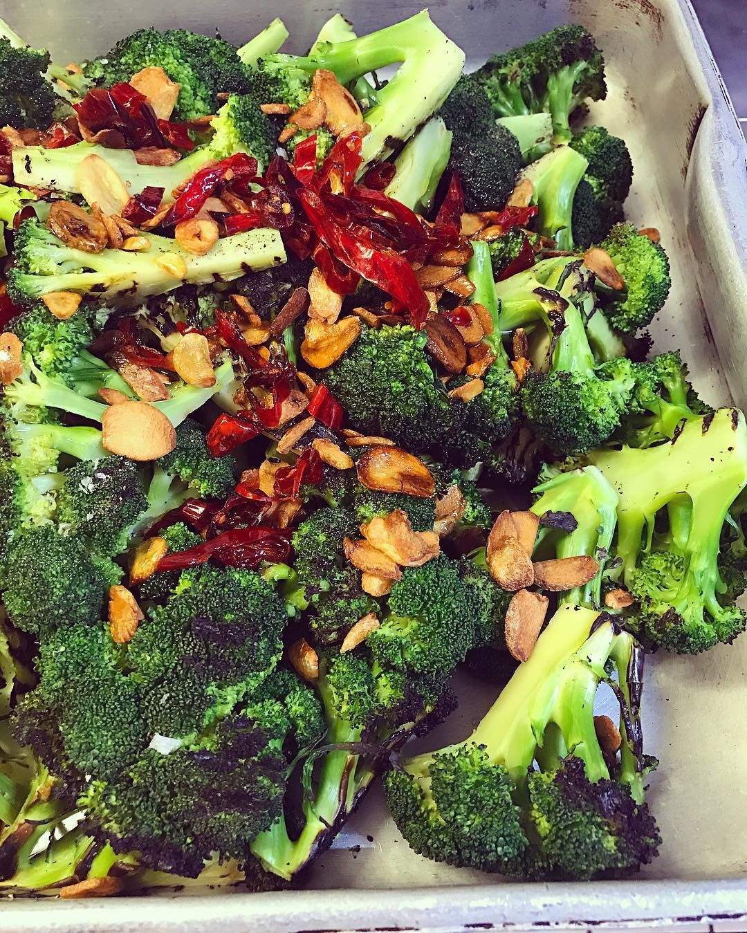The Old Broccoli With Chilli And Garlic At Ottolenghibelgravia