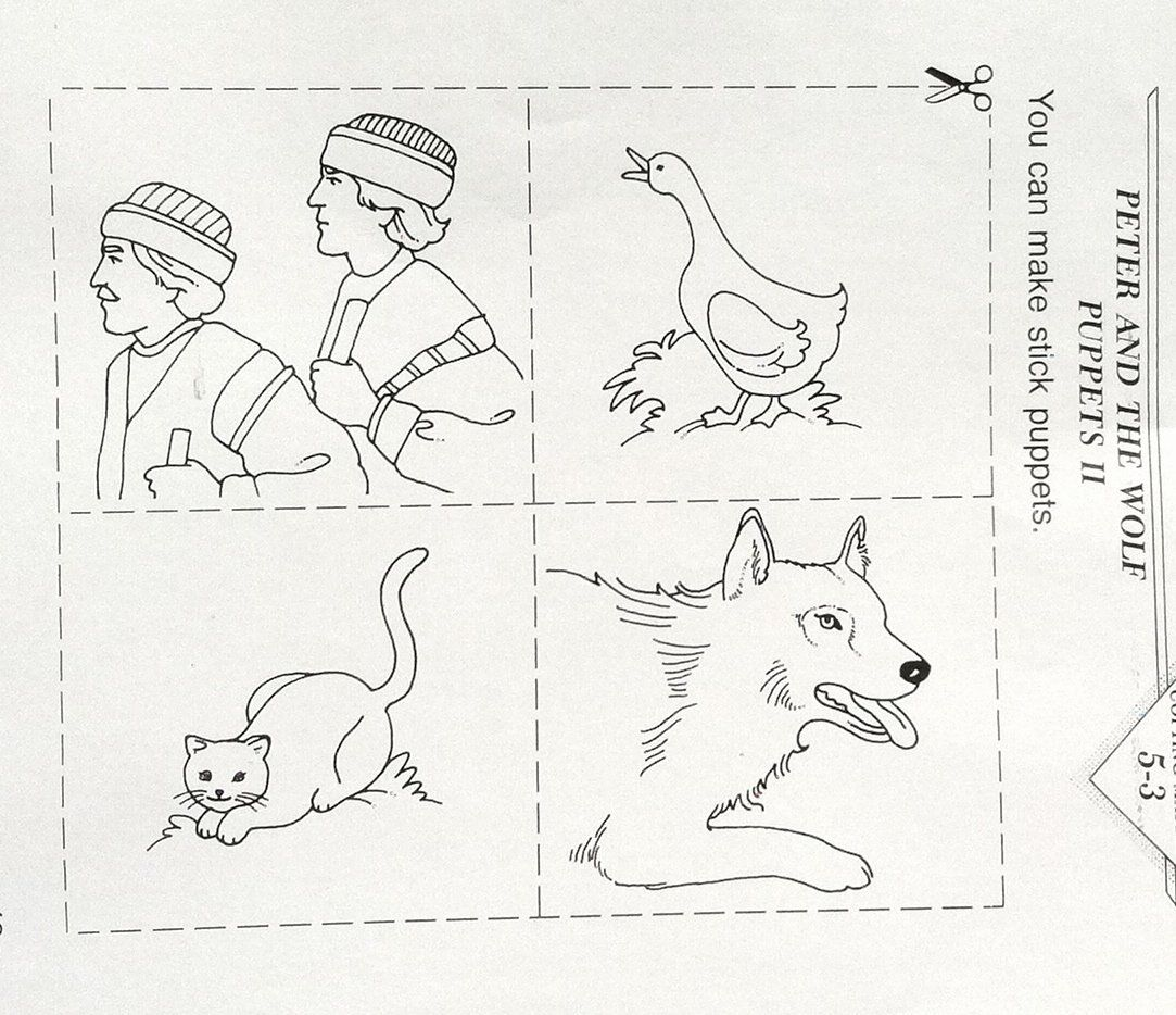 Peter And The Wolf Worksheet Luxury Music Appreciation