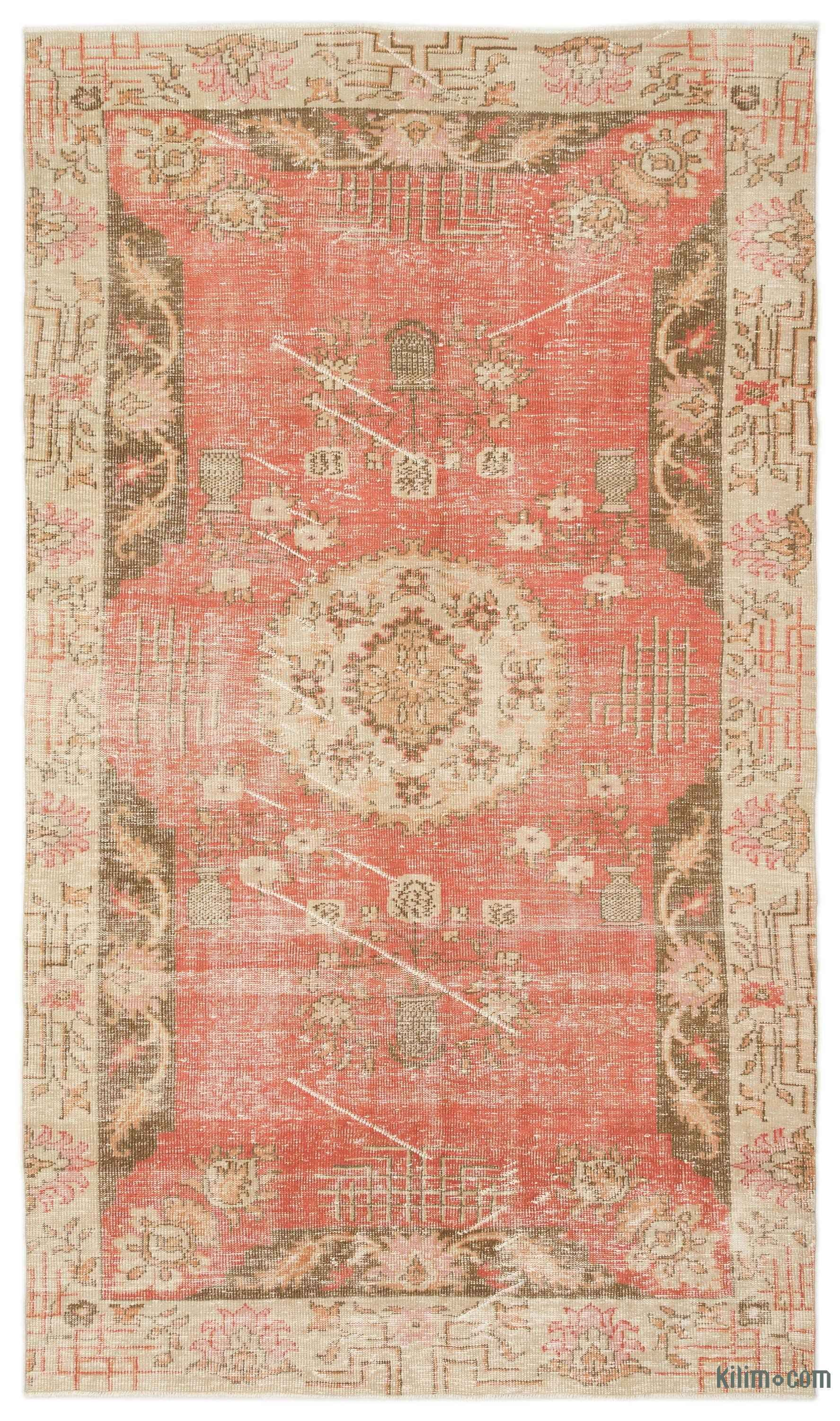 Turkish Vintage Area Rug 5 9 X 10 1 175 Cm X 307 Cm Rugs