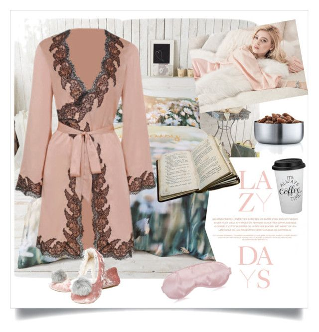 """lazy day"" by metka-belina ❤ liked on Polyvore featuring art"