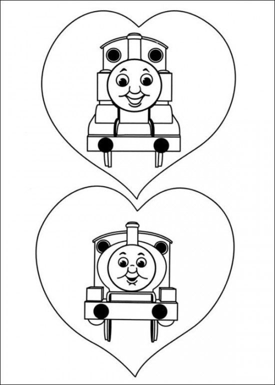 - 40 Free Thomas The Train Coloring Pages / All About Free Coloring Pages For  Kids Train Coloring Pages, Valentine Coloring Pages, Cool Coloring Pages