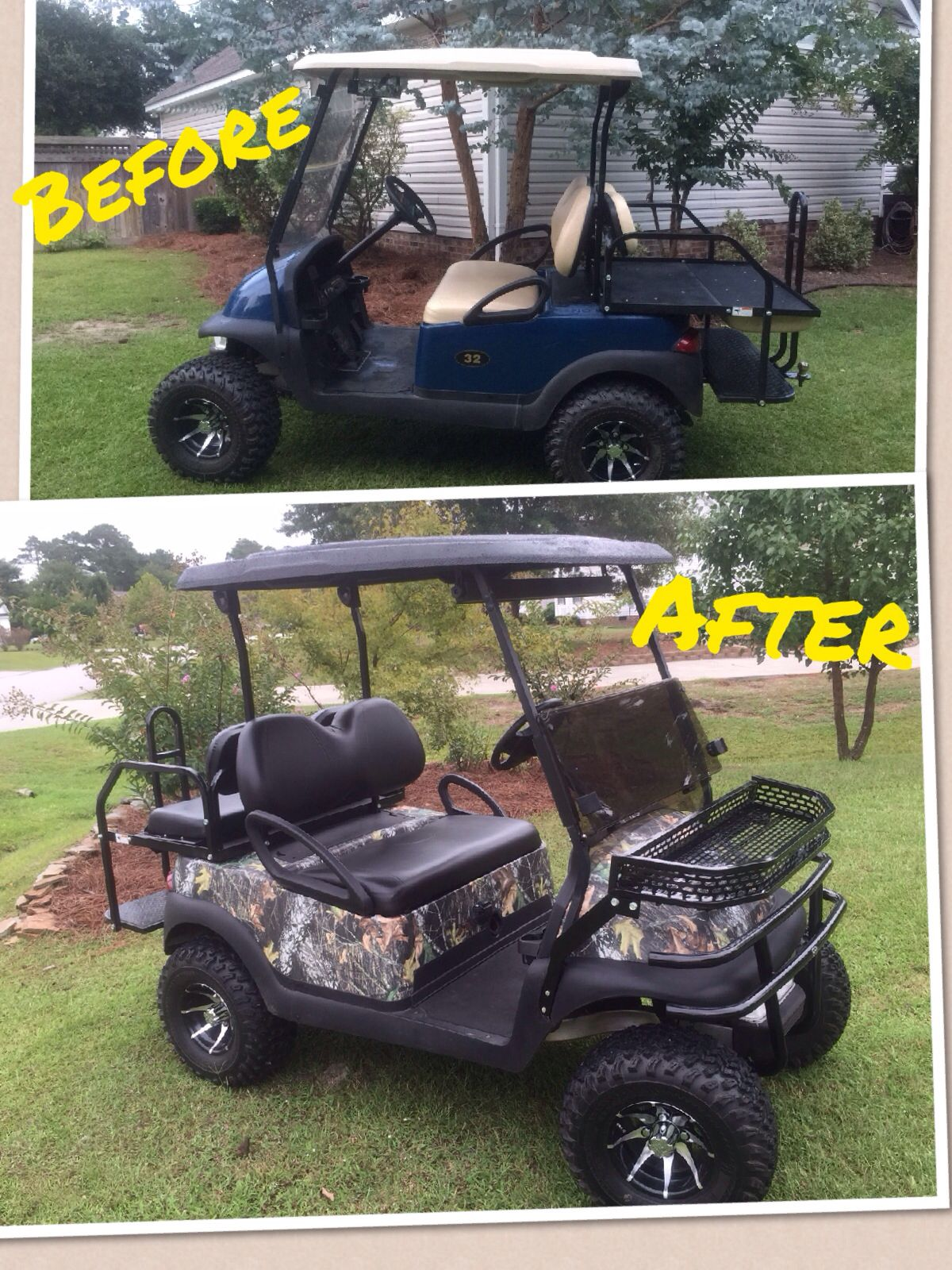 From the green to the woods mossy oak break up camo wrap with a from the green to the woods mossy oak break up camo wrap with a golf cartsmossy solutioingenieria Choice Image