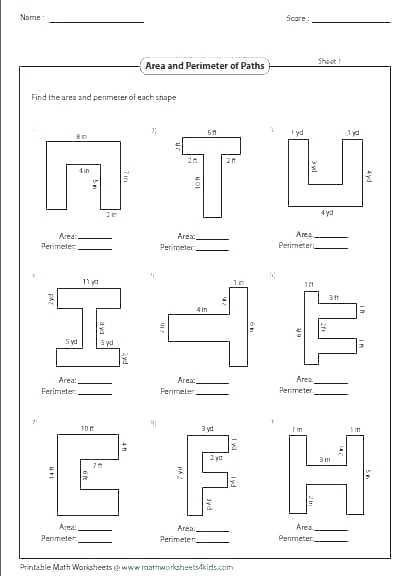 29 Area And Perimeter Of Compound Shapes Worksheet Pdf In 2020 Perimeter Worksheets Geometry Worksheets Area Worksheets