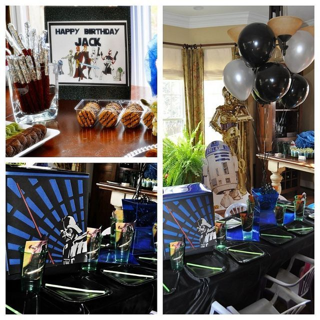 Star Wars birthday party via @frostedevents    frostedevents.com  Star wars party ideas