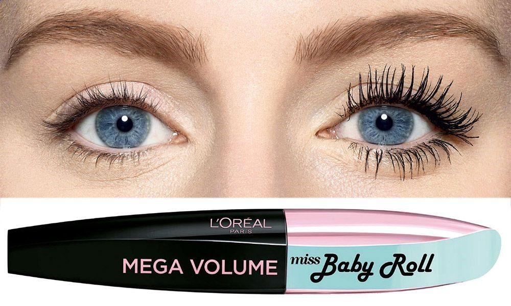 292a70caff2 Miss Baby Roll, il nuovo mascara L'Oréal Paris che incurva e volumizza le  ciglia come un vero e proprio bigodino