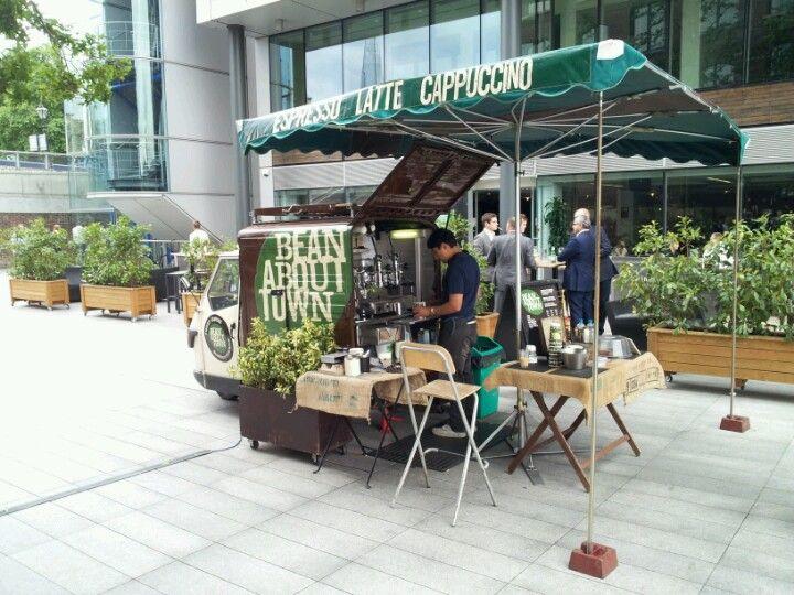 bean about town, london - piaggio ape. gorgeous set up. | shop