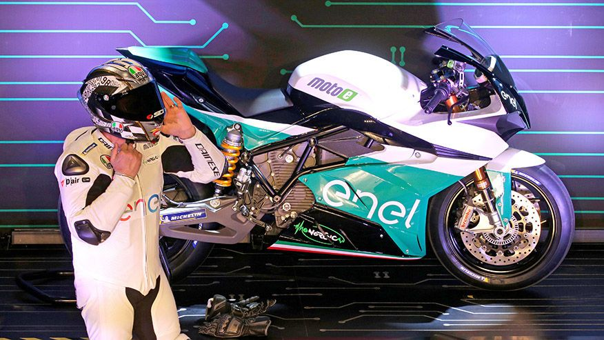 MotoE electric motorcycle racing series to launch in 2019