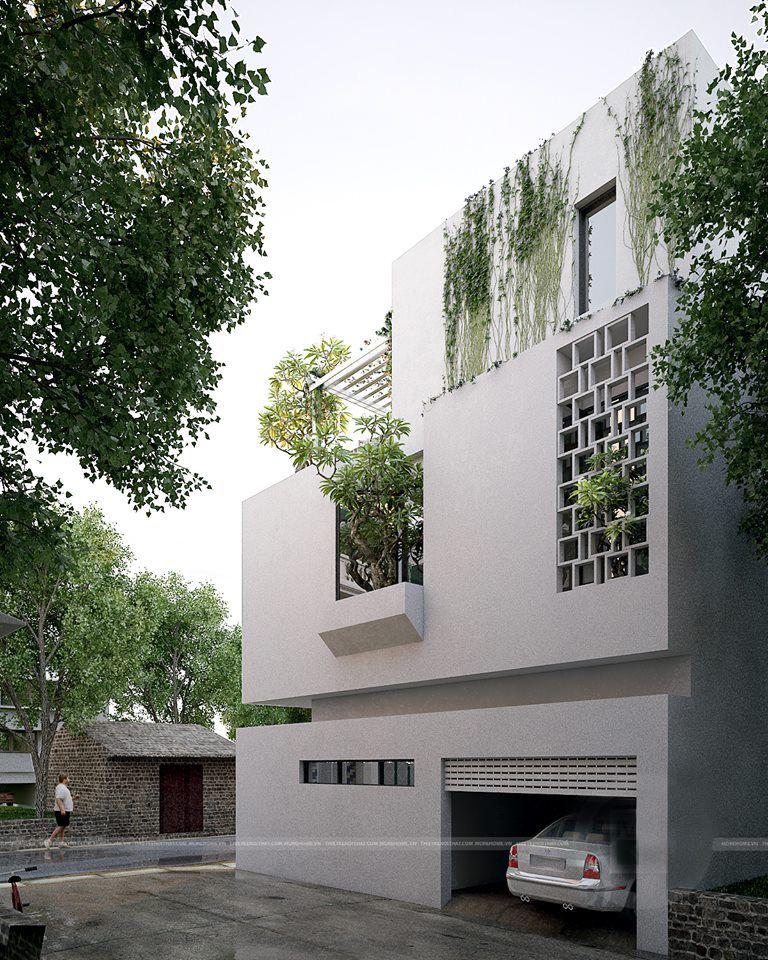 bi t th nghi t m h n i ideas for the house pinterest moderne h user architektur und. Black Bedroom Furniture Sets. Home Design Ideas