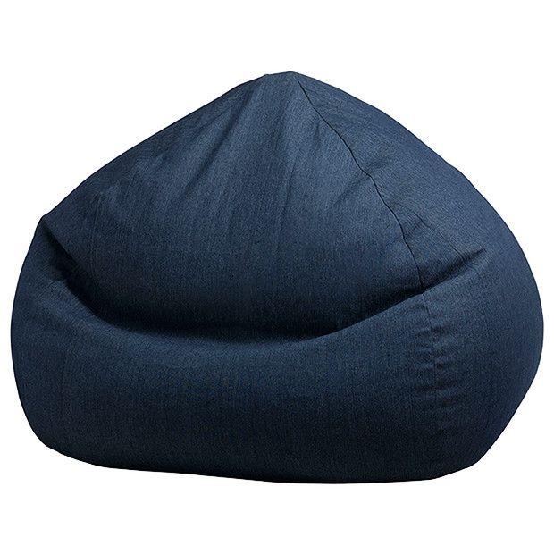 Bean Bag Cover 200lt Denim Look Target Australia