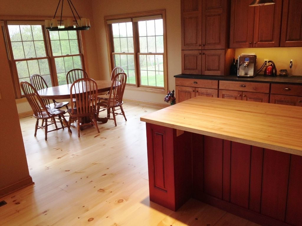 Wood Floor Kitchen 17 Best Images About Kitchen Wood Floors Hull Forest Products On