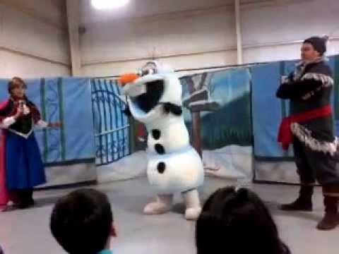 show disney kids show casi  completo de frozen