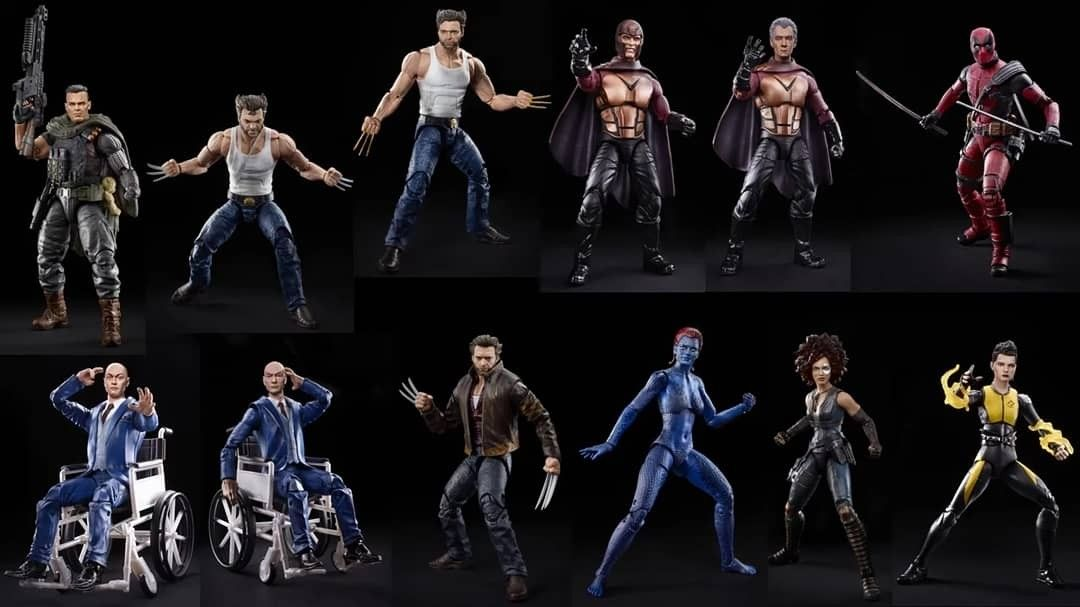 Every Marvel Legends Fox Sony Universal Toybiz And Hasbro Comparison List In 2020 Marvel Legends Universal Studios X Men