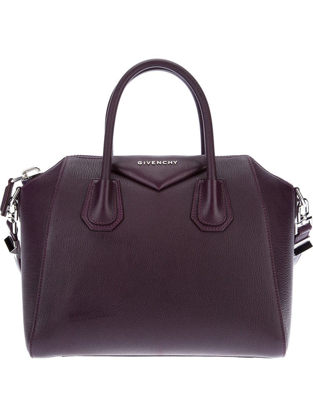 e14f67596a8 Women s Purple Antigona Small Leather Tote   Givenchy Bags ...