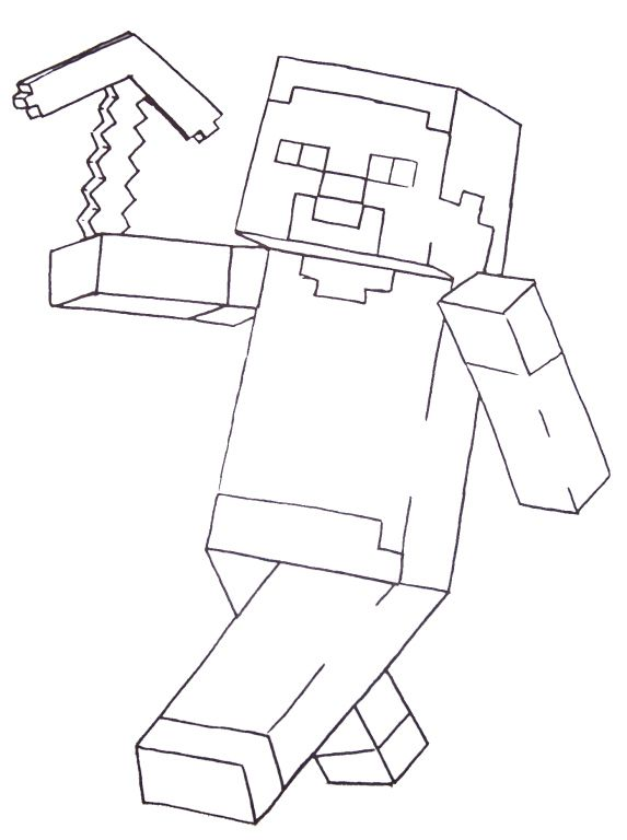 Fun Free Printable Coloring Pages For Boys Including Minecraft