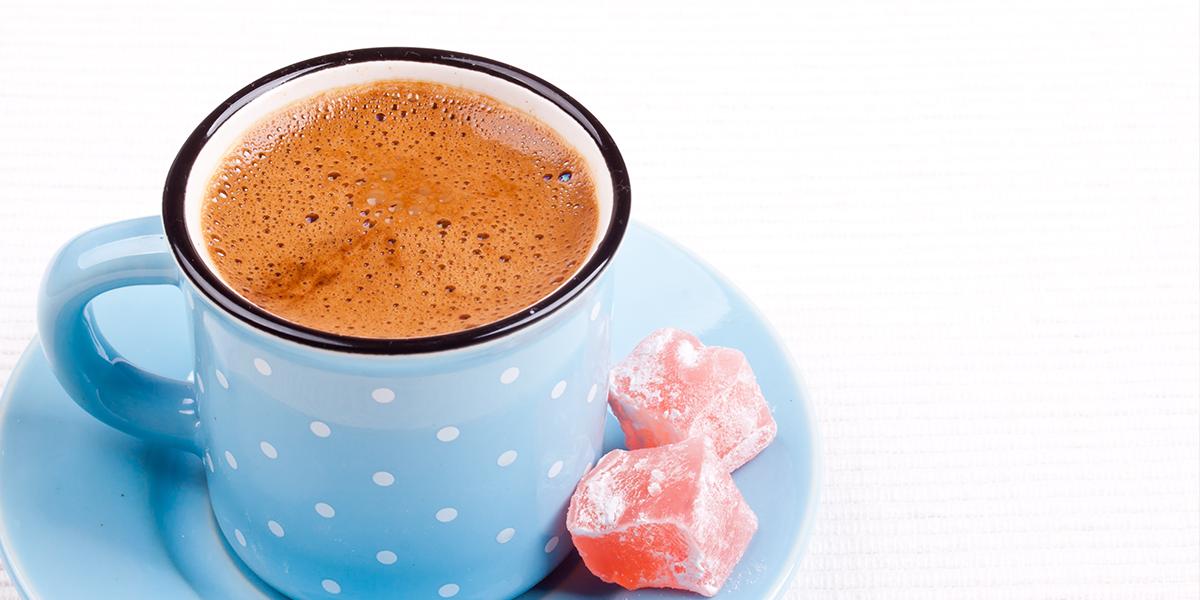 عمل القهوة التركية بالحليب Turkish Coffee Milk Recipes Coffee Works