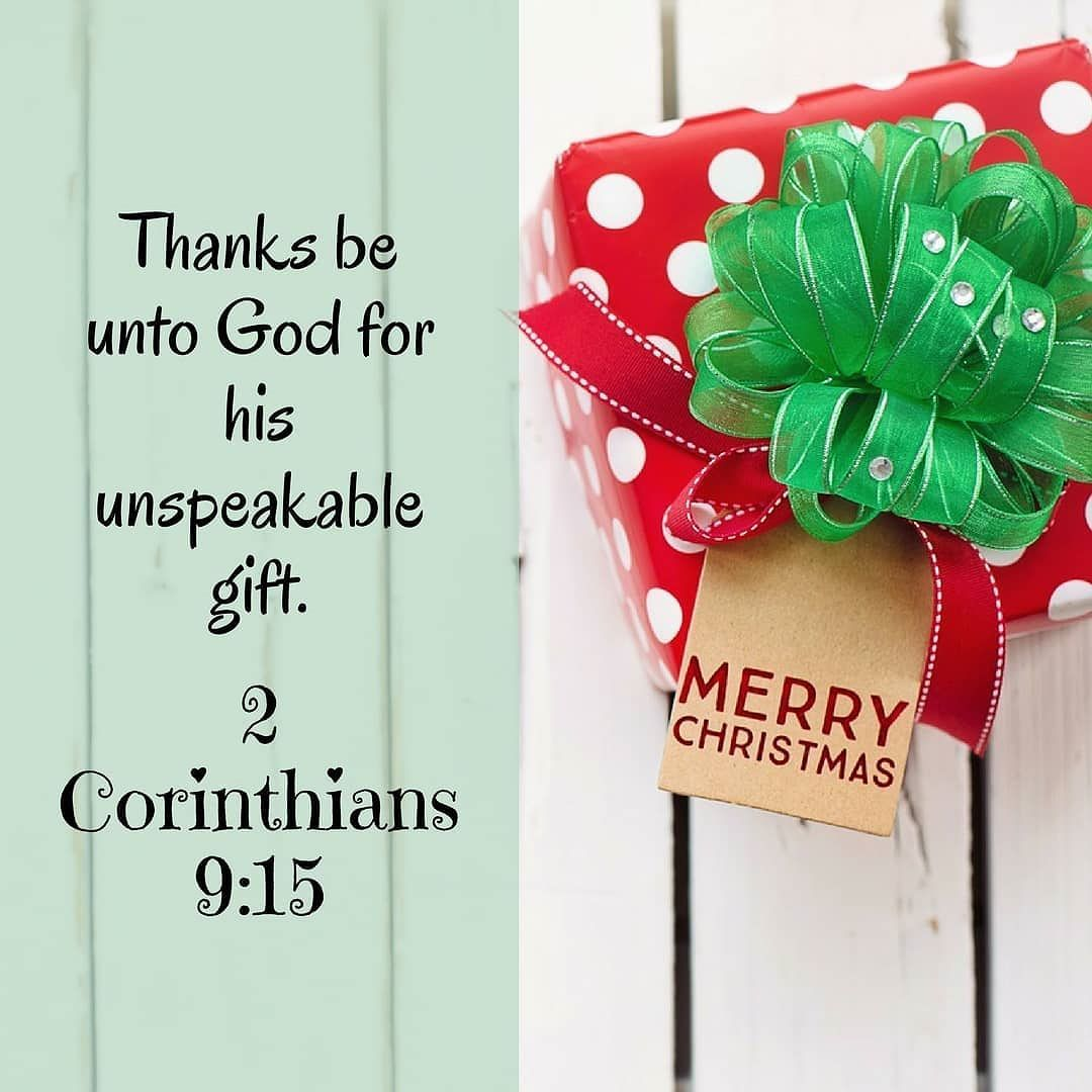 """2 days until Christmas! """"Thanks be to God..."""" I know this"""
