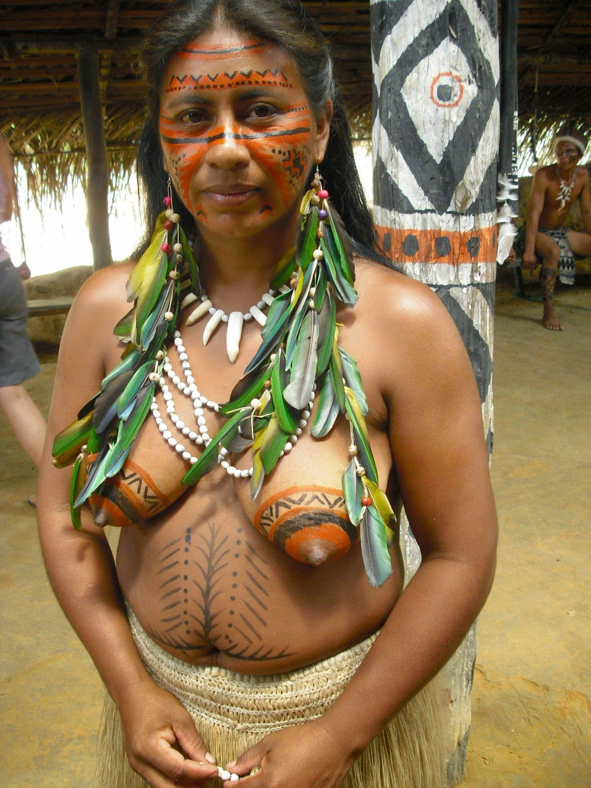 Brazilian tribal girls boobs photos