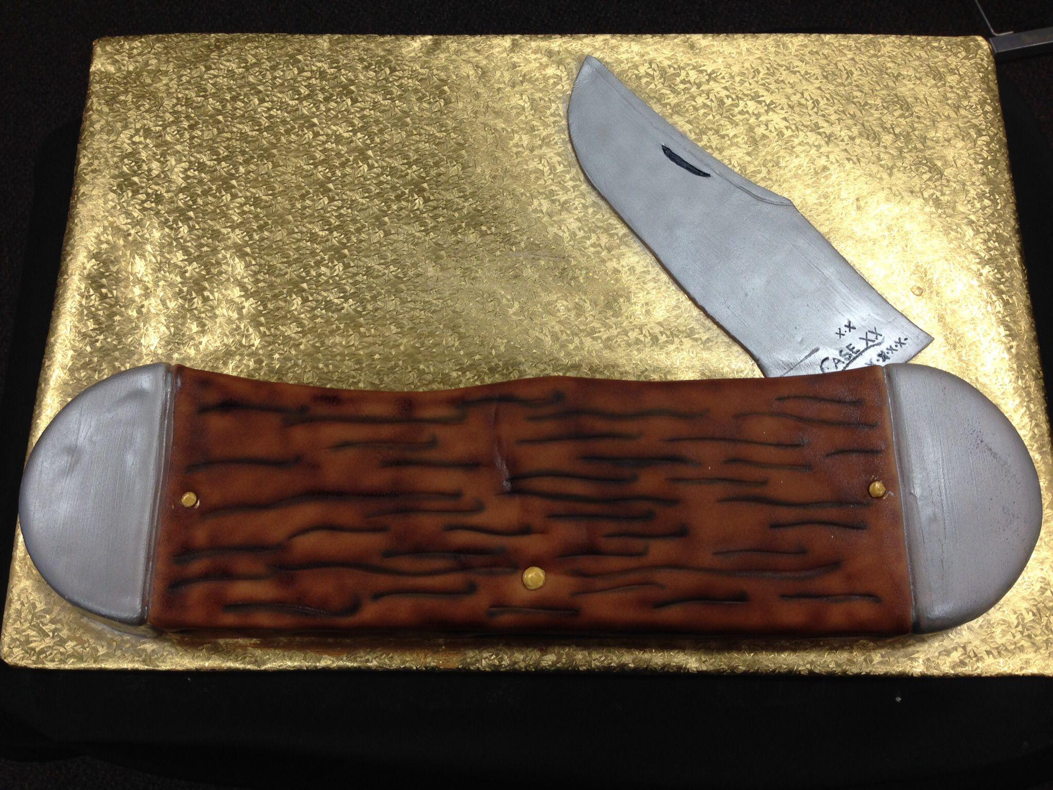 Case knife birthday cake graduation cakes amazing cakes