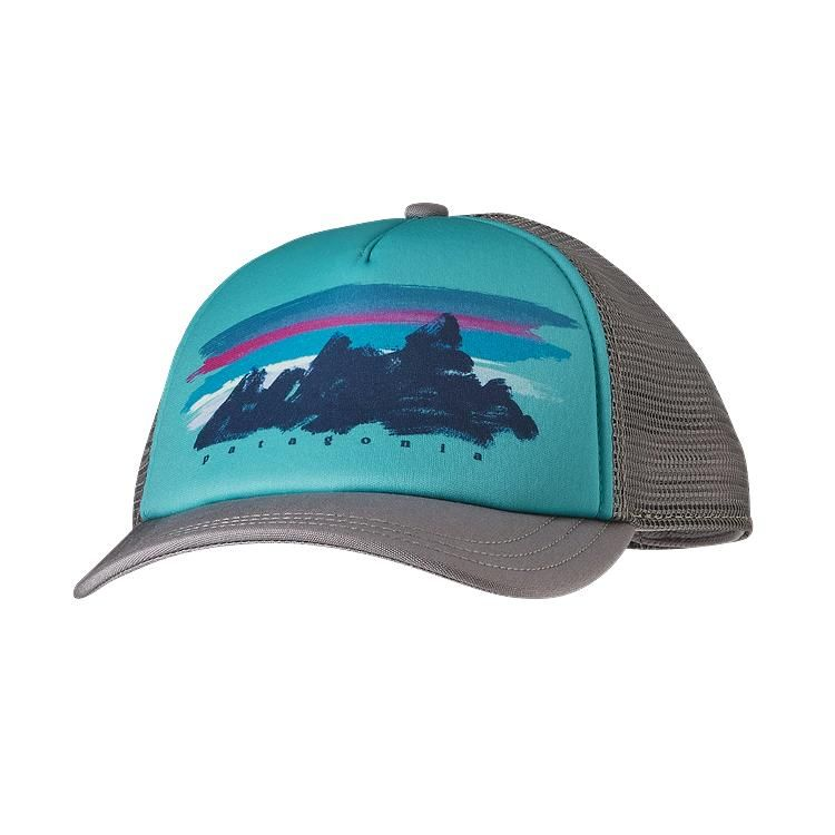 9f8a5f28 Patagonia Women\'s Painted Fitz Roy Interstate Hat - Feather Grey FEA