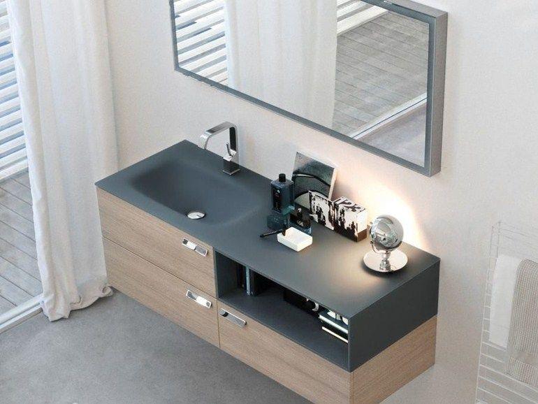 Comp Mfe12 Mobile Lavabo Sospeso By Ideagroup Vanity Bathroom