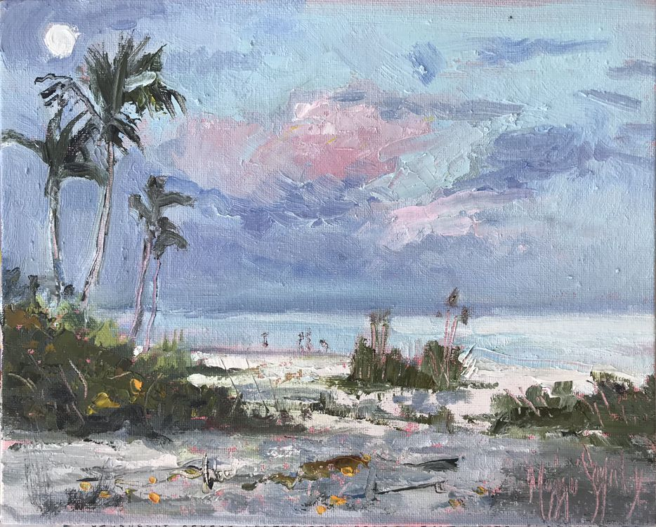 Painted Plein Air On Sanibel Island In 2020 Painting Artist