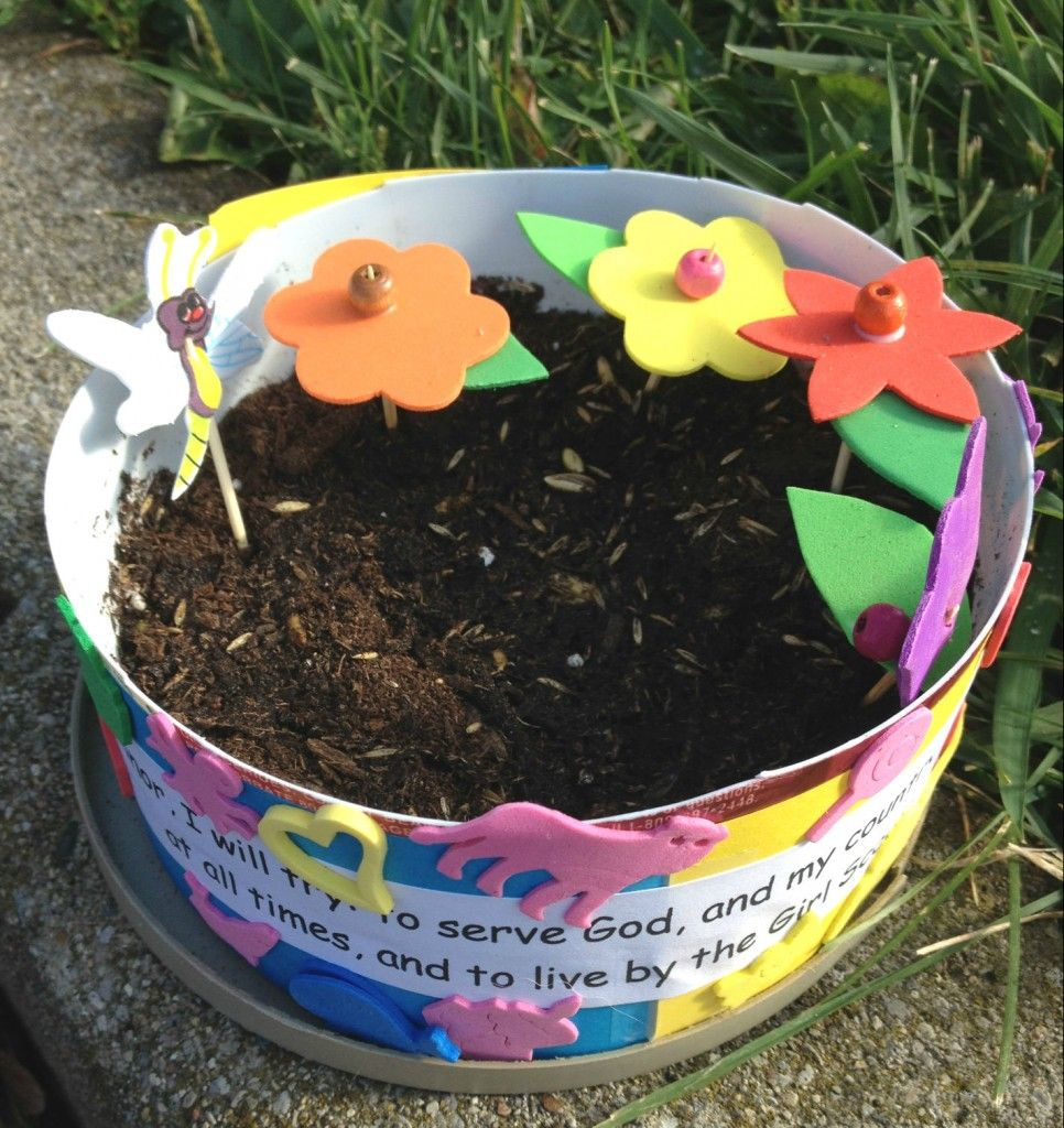 Mini garden activity girl scouts pinterest activities patches activity to go along with the welcome to the flower garden patch for daisy scouts kids not in scouts will enjoy creating their own mini garden too izmirmasajfo
