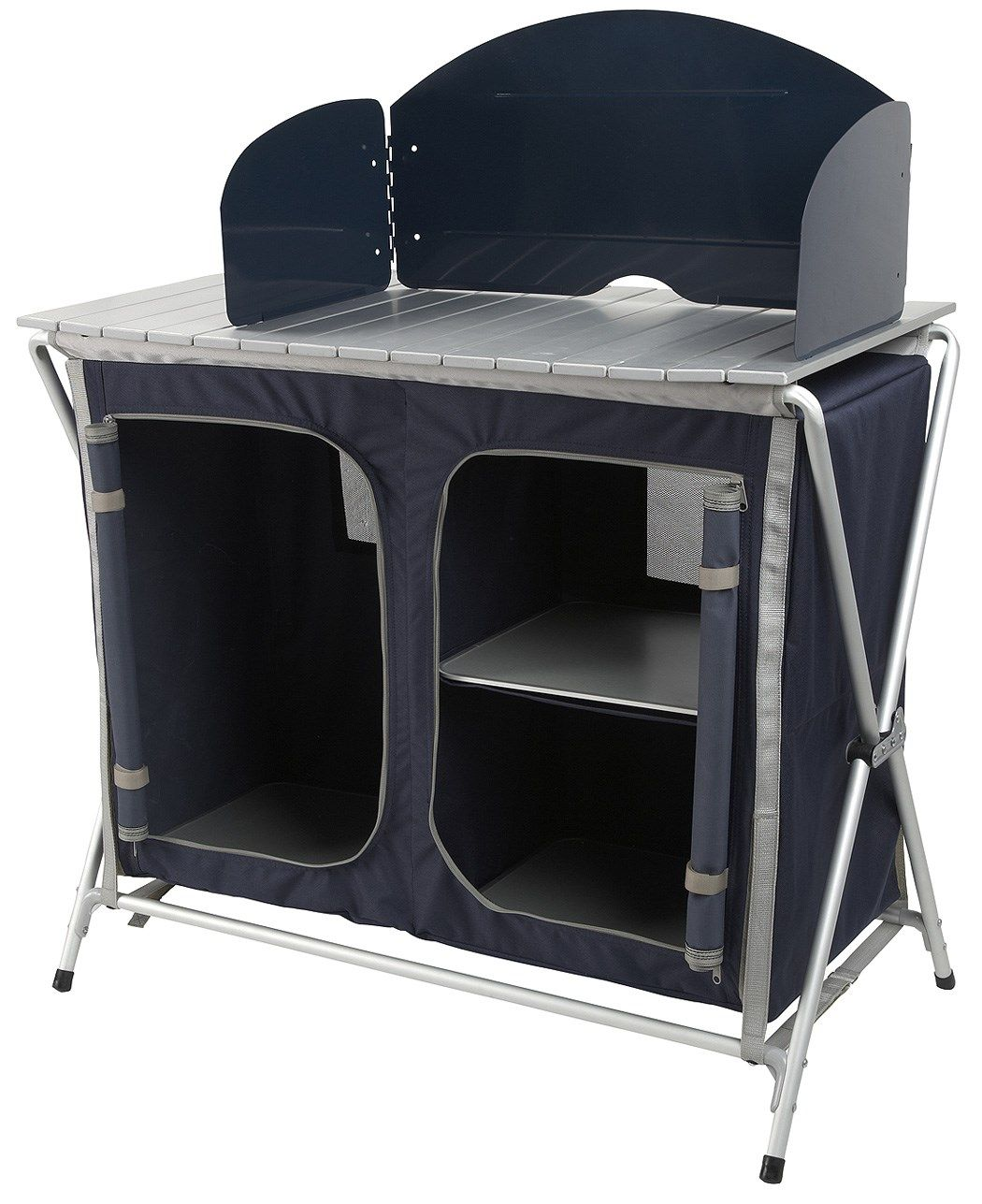 Camping Kitchen A Versatile Easily Assembled Kitchen Stand And Cupboard For