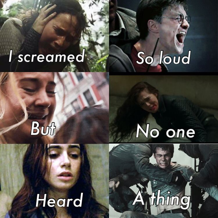 Hunger Games Divergent Harry Potter Mortal Instruments Vampire Academy Maze Runner Book Fandoms Fandom Quotes Book Memes