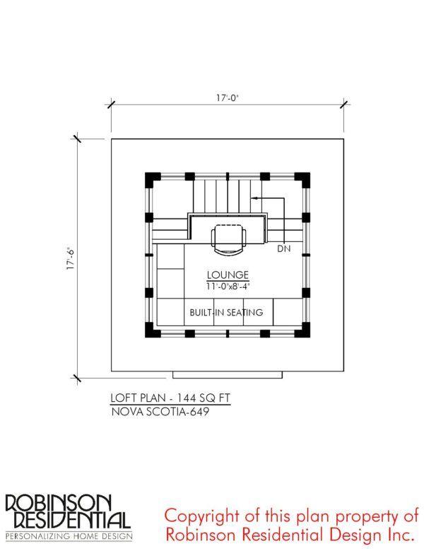 The Nova Scotia: Small Home Plans | Tiny House | Pinterest | Nova ...