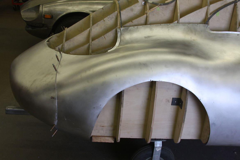 1939 Porsche Type 64 Metal Shaping Porsche Metal Working