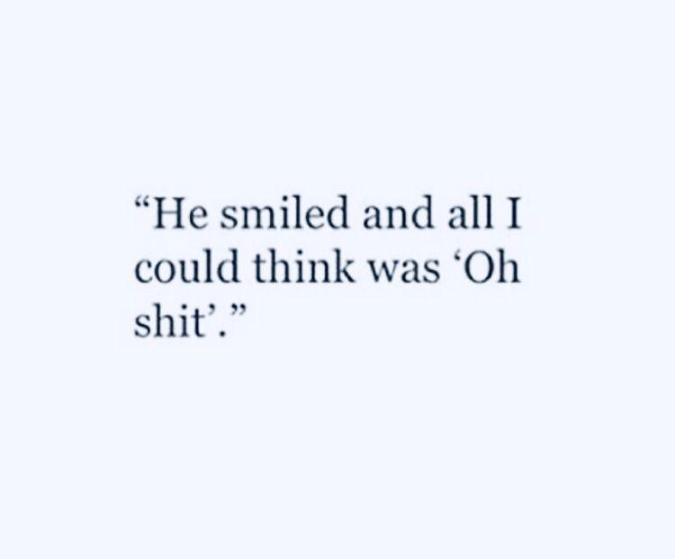 ah :) #littleboyquotes OMG, sein Lächeln ist verdammt großartig … er auch