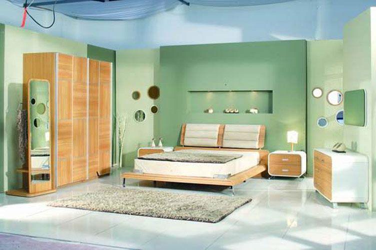 Green Vintage Retro Bedrooms Modern Retro Bedrooms Retro