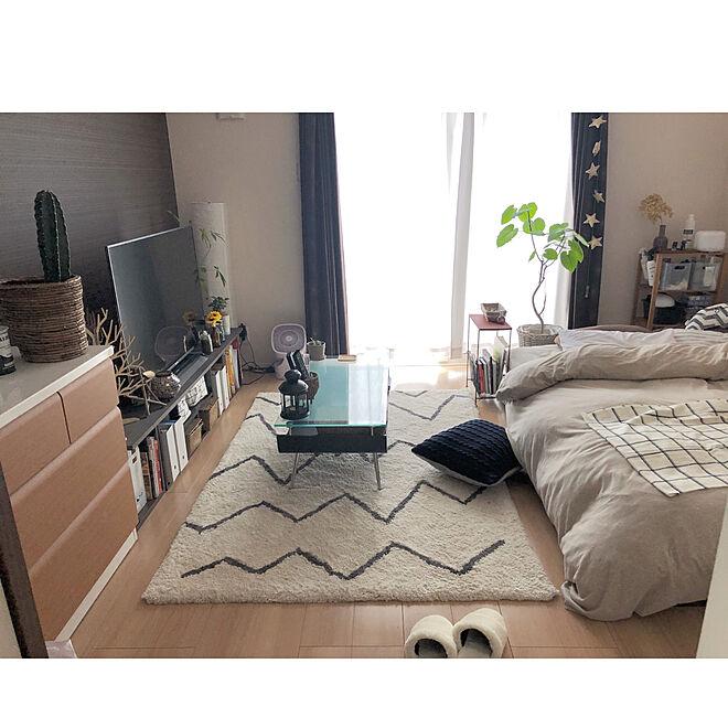 部屋全体 ひとり暮らしをとことん楽しむ ひとり暮らし 女子部屋