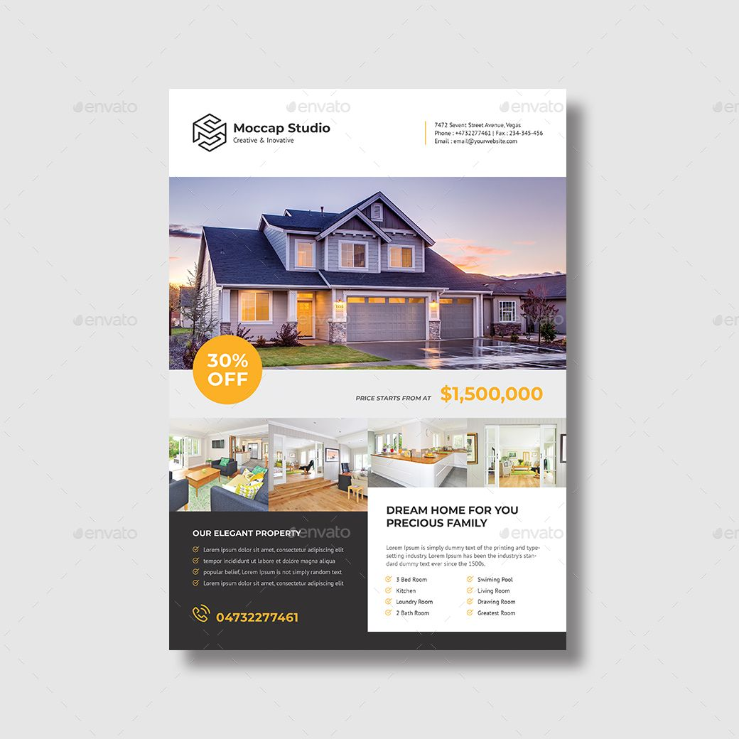 Real Estate Flyer Real Estate Marketing Flyers Real Estate Flyers Real Estate Flyer Template