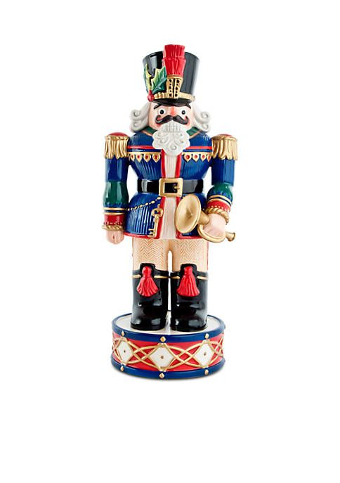 Fitz And Floyd Holiday Nutcracker Blue - - No Size Holidays