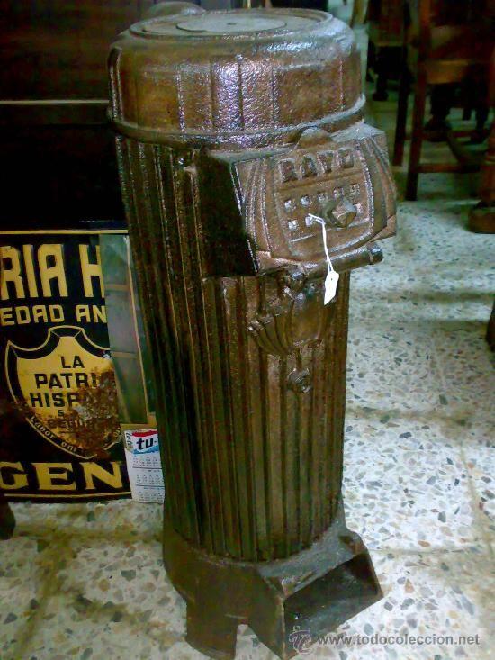 Antigua estufa de hierro a os 30 40 estufas pinterest - Estufas de hierro ...