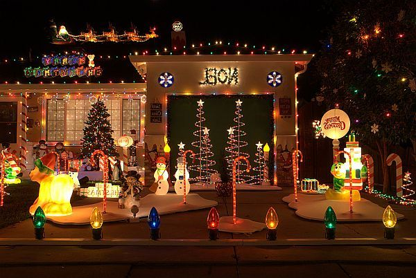 Outdoor Christmas Decoration Ideas Outdoor Christmas Decoration - Christmas decoration outdoor ideas