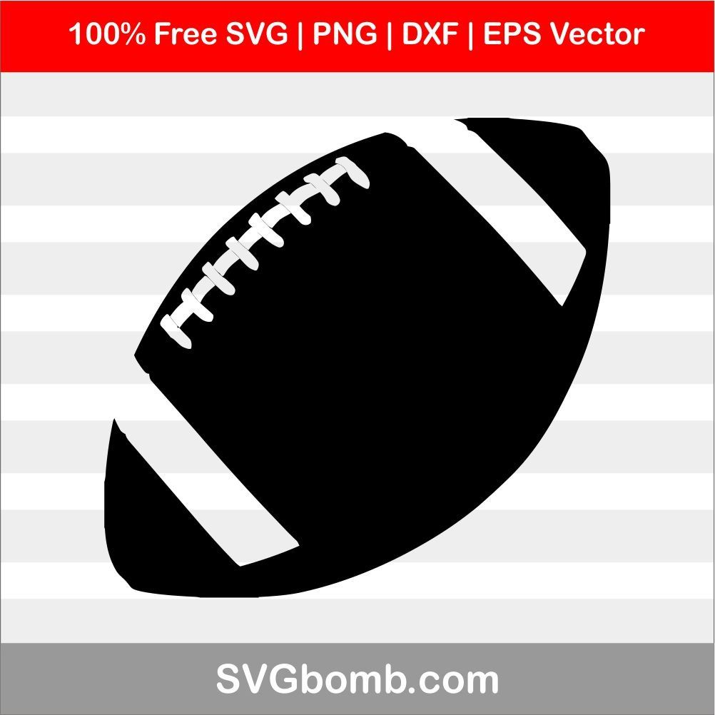 American Football Svg Eps Clipart American Football Football