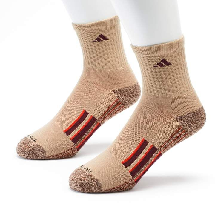 purchase cheap b8f79 529ae adidas Mens 2-pk. Climalite X Half-Crew Performance Socks