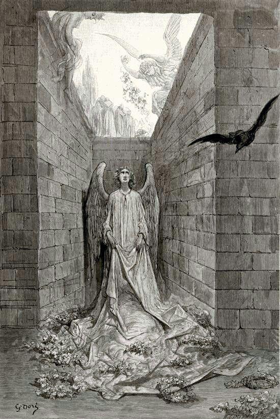 """Gustave Doré's Splendid Illustrations of Edgar Allan Poe's """"The Raven"""" (1884)"""