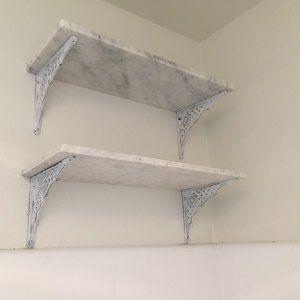Farmhouse Bathroom Towel Rack Wire Baskets