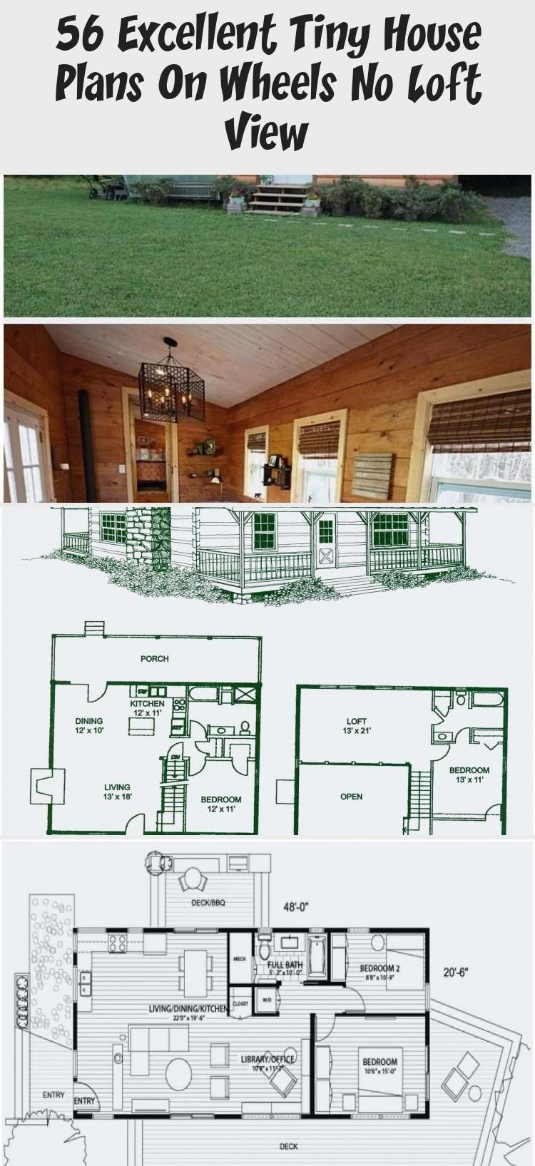 Tiny House On Wheels Floor Plans With No Loft