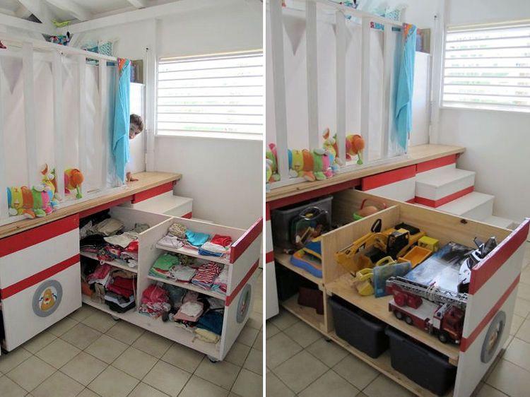 Rangement Chambre Fille Astuce Bebe Visuel 4 14   Chambres enfants ...