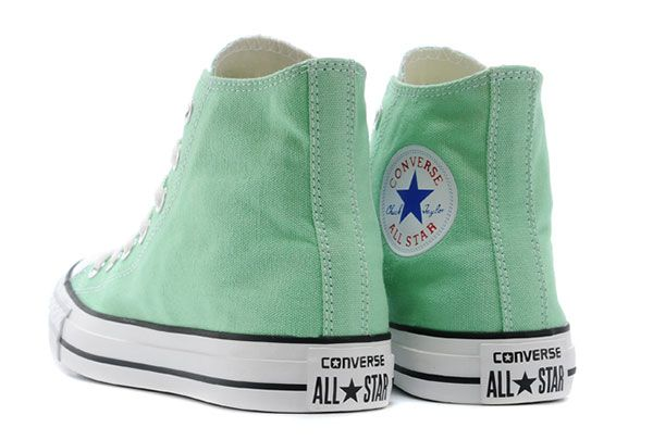 a9833f1c5af7 Chuck Taylor Fresh Colors All Star Minty-Fresh Hue Converse Beach Glass  Summer Ice Cream High Tops Sneakers  converse  shoes