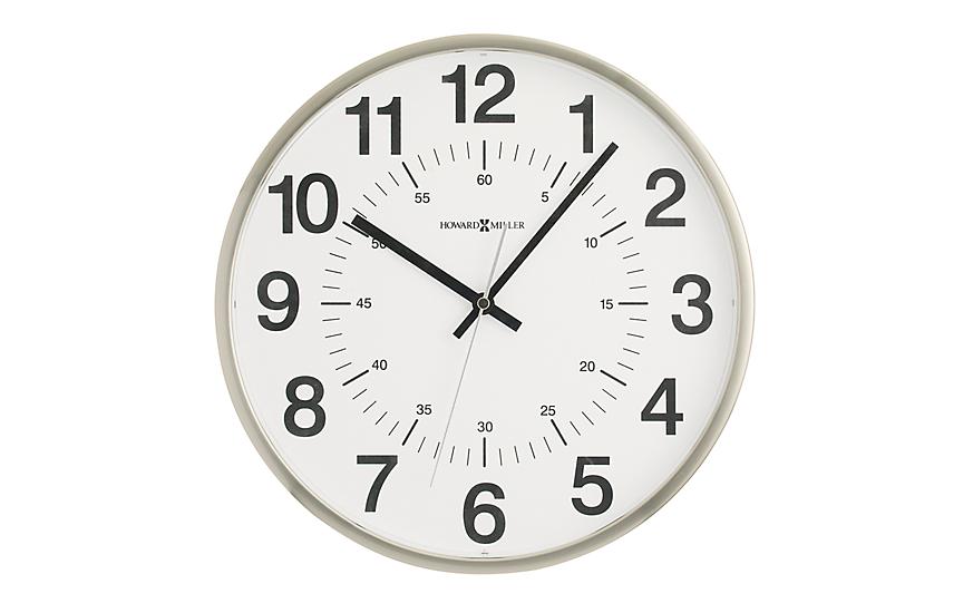 Quartz 24 Hour Wall Clock