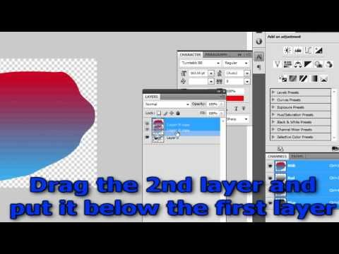copy cat! Photoshop Tutorial- How To Outline Image or Text