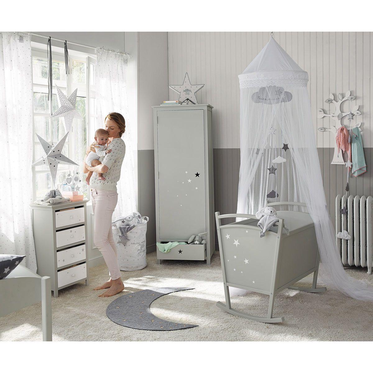 Maison Du Monde Letti Per Bambini.Rideau A Nouettes En Coton Blanc A L Unite 102x250 Lits